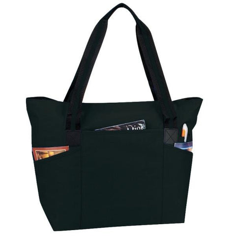 Zipper Tote Bag with Briefcase