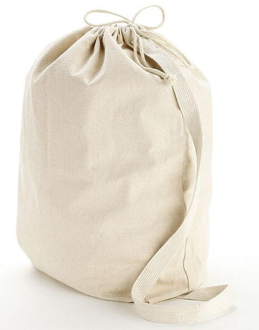 Wholesale Heavy Canvas Laundry Bags W/Shoulder Strap (Small-Med-Large)