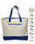 Heavy Canvas Tote Bags with Zipper for Shopping