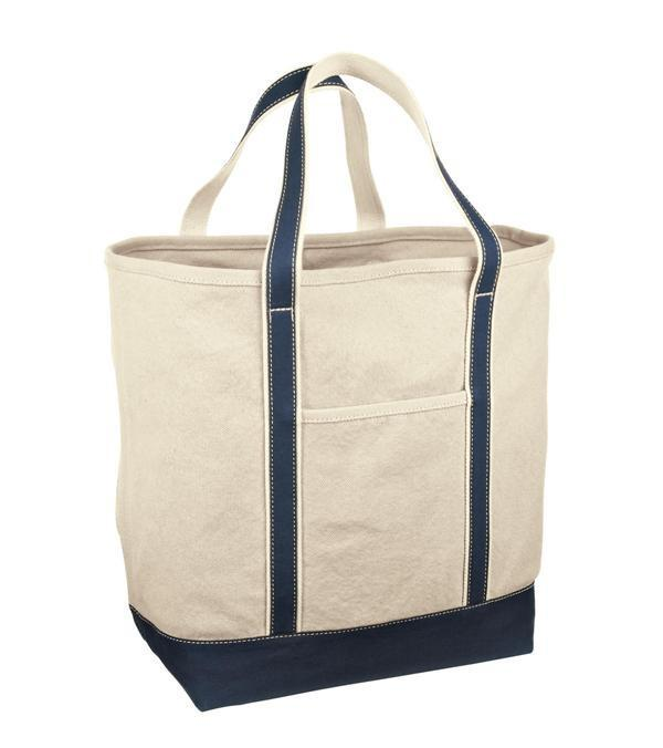 bd96327dd ... Affordable Large Canvas Tote Bags Navy; Large Heavyweight ...