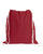 affordable red drawstring backpack