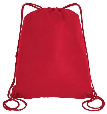 350 ct Economical Drawstring Bag / Large size Wholesale Backpacks - By Case