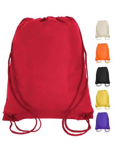 500 ct Small Size Drawstring Bag / Junior Cinch Packs - By Case