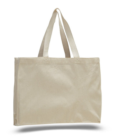 Full Gusset Heavy Canvas Cheap Tote Bags