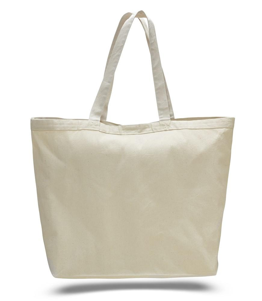 15a5c2e1210 ... Natural Large Canvas Tote Bags With Velcro Closure; Large Promotional  Cotton ...