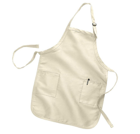 High Quality Full-Length Aprons with 2 Pockets