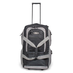 Wholesale Black / Charcoal Rolling Duffel Bag Cheap