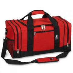 Discount Red / Black Sporty Gear Bag Cheap
