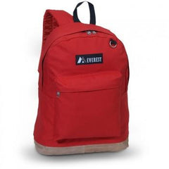 Wholesale Red Suede Bottom Backpack  Cheap