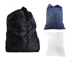 Odor-Free Nylon Drawstring  Large Laundry Bag