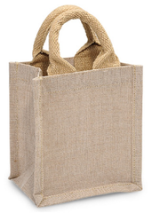 Natural Burlap Gift Tote Bags Party Favor Burlap Totes