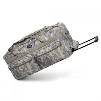 Wholesale Wheeled Digital Camo Duffel Cheap