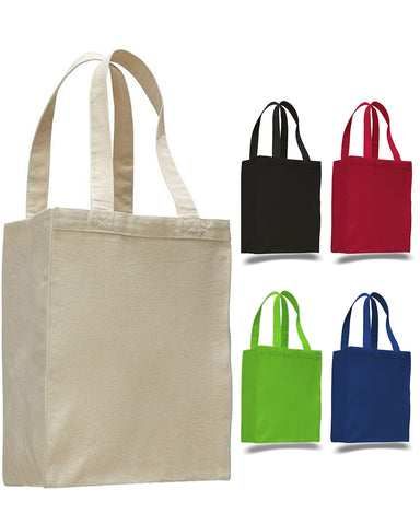 96 ct Heavy Canvas Multipurpose Shopping Tote - By Case