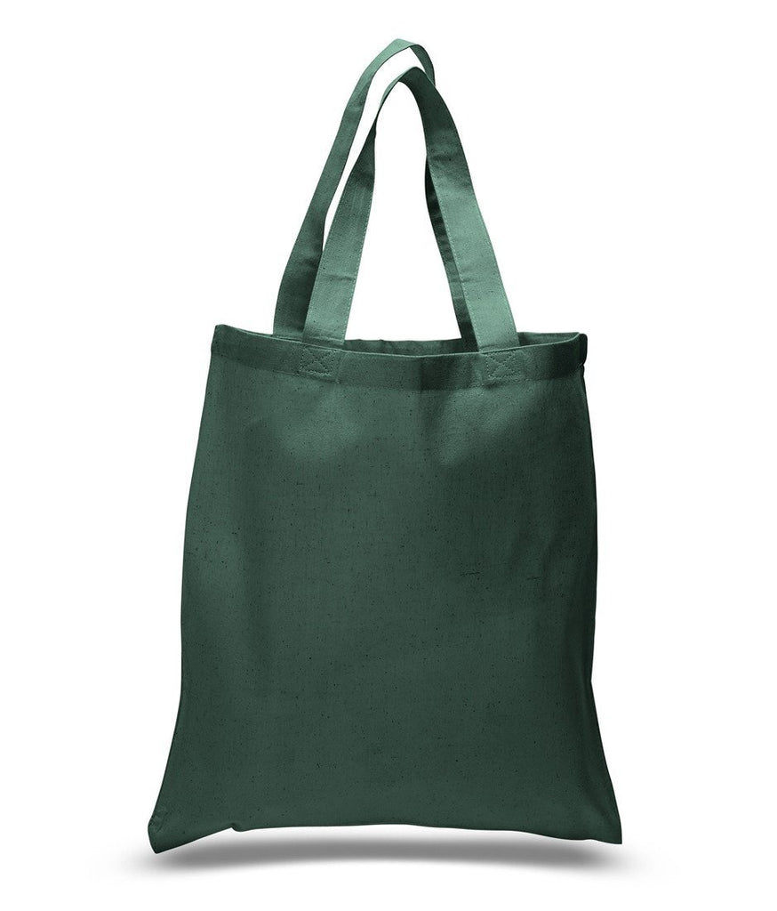 87efd0fedf ... Forest green Economical Cotton Reusable Tote Bag ...