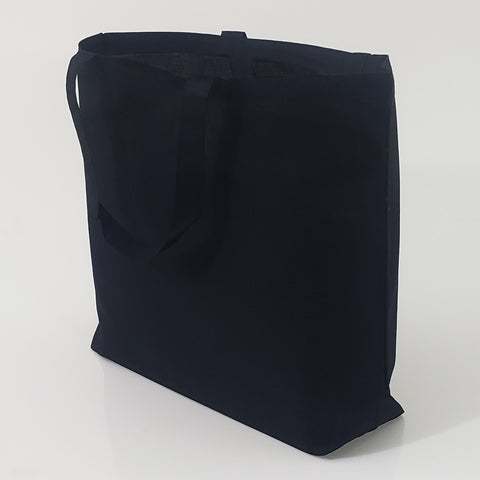 240 ct Large Cotton Basic Grocery Tote Bags - By Case