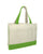 Cotton Canvas Tote Bag with Inside Zipper Pocket - (CLOSEOUT)