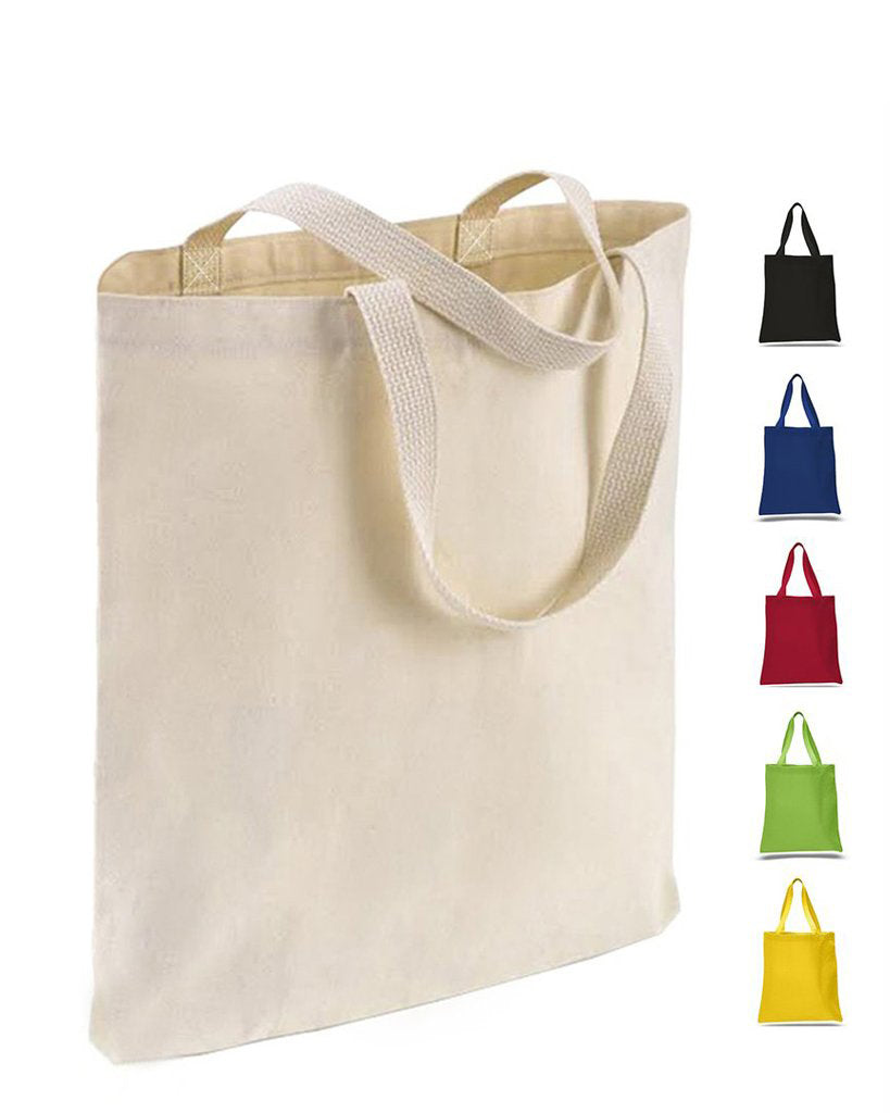 12 Ct High Quality Promotional 100 Canvas Tote Bags By Dozen