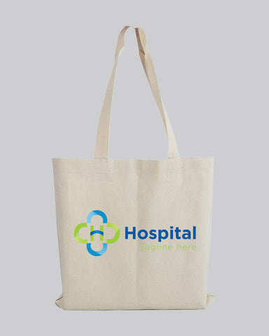 Customized Eco-Friendly Canvas Convention Tote Bags - Personalized Tote Bags With Your Logo