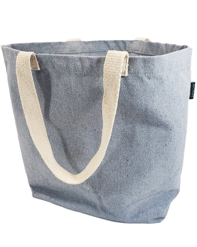 60 ct Large Size Recycled Shopping Tote Bag - By Case