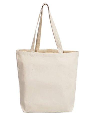 Daily Use Medium Canvas Tote Bag - Made in USA