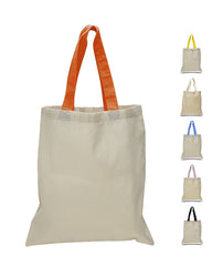 Wholesale Tote Bags - Tote Bag with Color Handles
