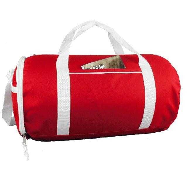 8cfd1a5ae Two-Tone Sport Gym Roll Duffel Bags
