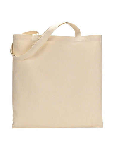 12 ct Economical 100% Cotton Reusable Wholesale Tote Bags - By Dozen
