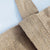 classic jute tote bag durable handle detail