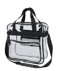 clear crossbody messenger shoulder bag blank