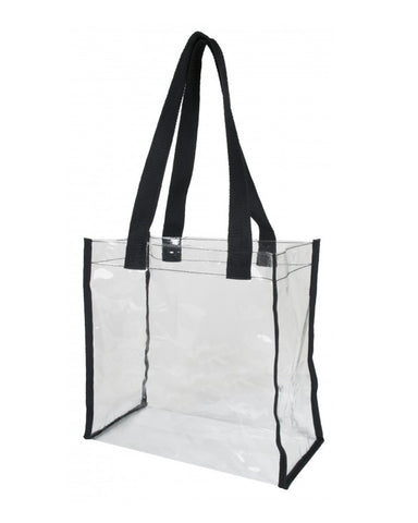 Transparent Stadium Approved Clear Tote Bags
