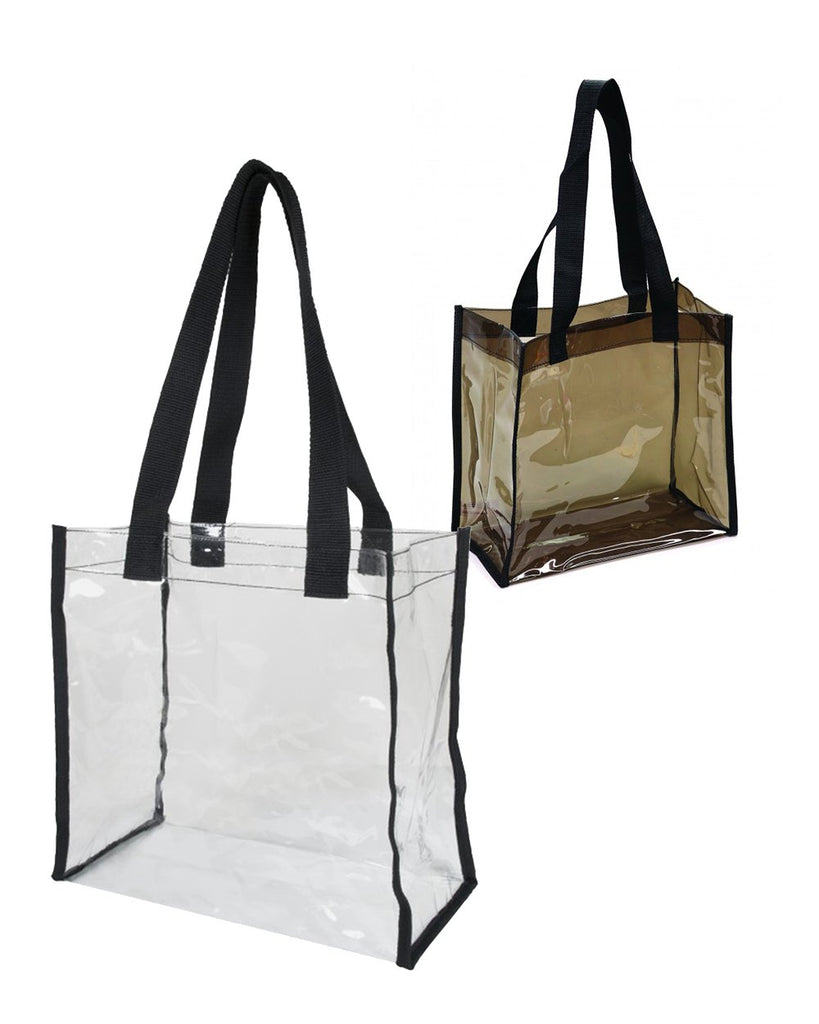 6 Clear Tote Bags