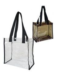 Clear Transparent Tote Bag-by TBF Thumbnail