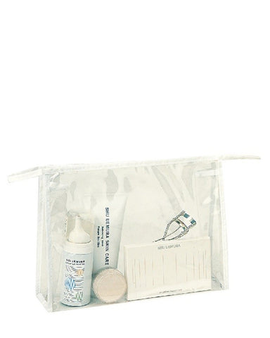 Zippered Clear Cosmetic Bag for Travel