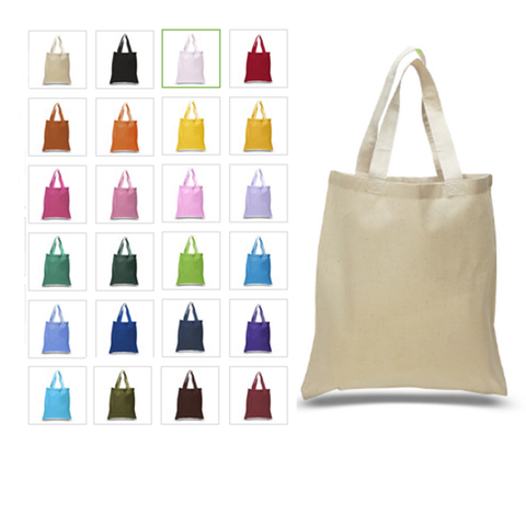 Set of 100 - High Quality Canvas Tote Bags TOB293