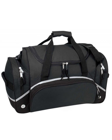 "22"" Deluxe Duffel Bag with Side and Front Pockets"