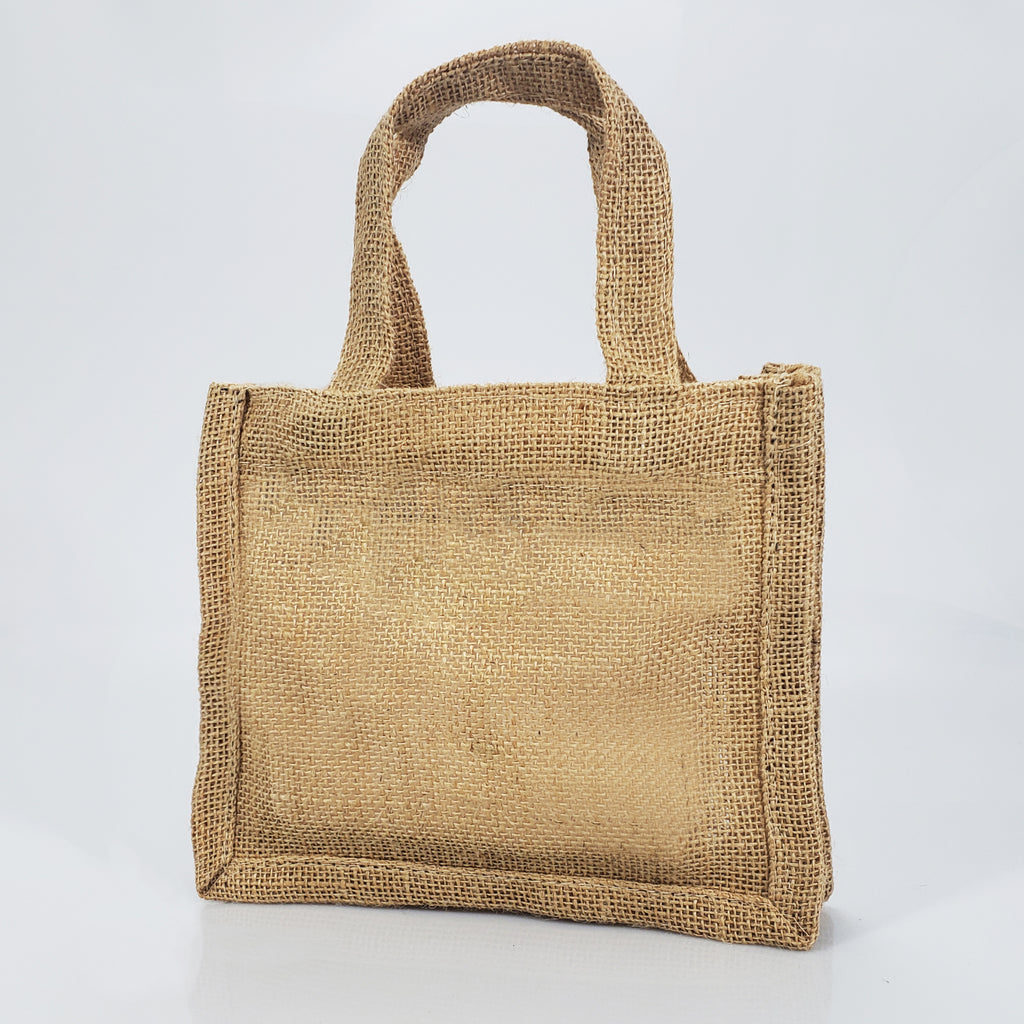 new specials brand new sold worldwide Small Burlap Party Favor Bags / Jute Gift Tote Bags TJ767