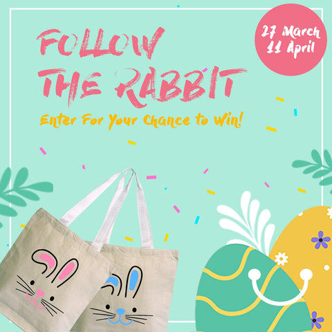 Cute Easter Bunny Tote Bags