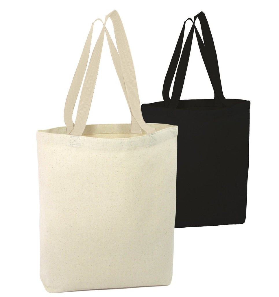 3c340e0660e Canvas Promotional Tote Bag Gusset - Promotional Custom Tote Bags; Heavy ...