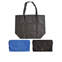 from  1.60 was  2.52 Foldable Zippered Economical Tote Bag 437759443376a