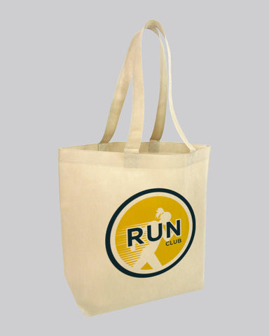 Customized Logo Bottom Gusset Tote Bags - Promotional Tote Bags