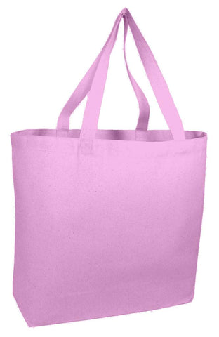 Canvas Tote Bag with Long Web Handles TG260 - (CLOSEOUT)