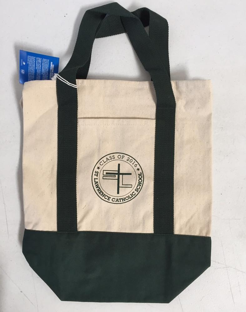 aa040d88d8a6 ... LOGO SCREEN PRINT PROMOTIONAL CANVAS TOTE BAG