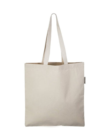 120 ct Organic Cotton Heavy Canvas Tote Bags - By Case