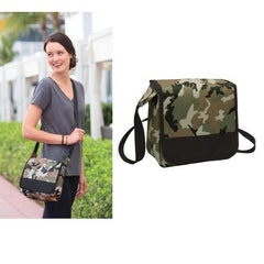 Deluxe Lunch Cooler Messenger Tablet Bag