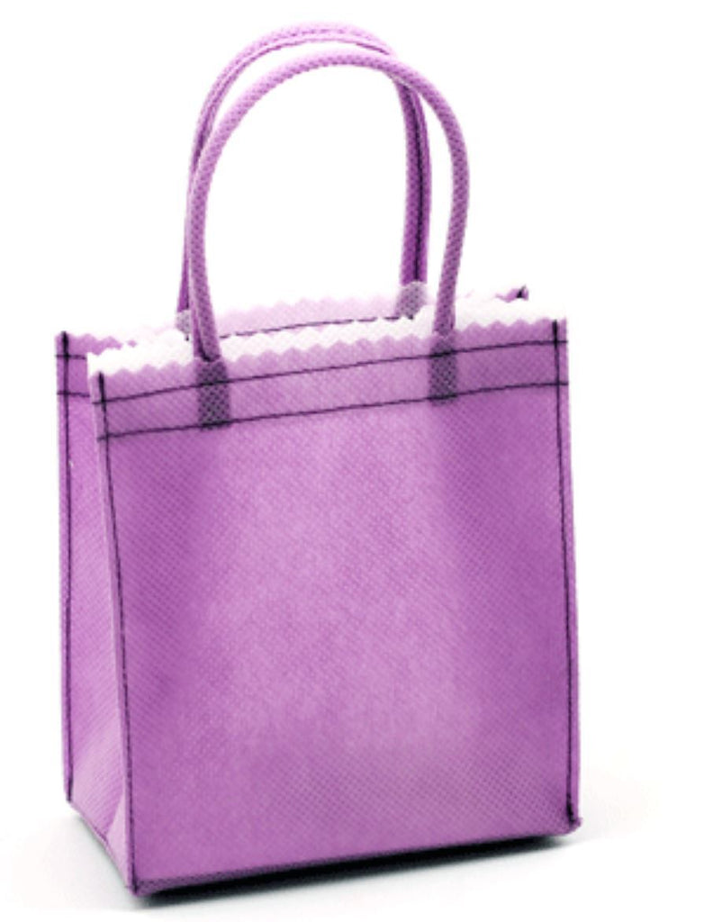 6 Mini Non Woven Tote Bag With Fabric Handlespromotional Mini Tote