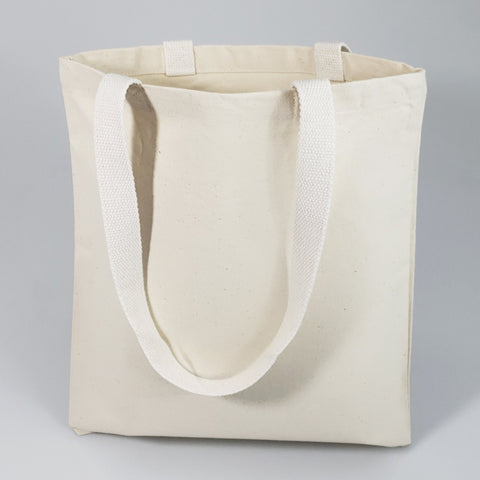 Economical Canvas Convention Tote Bag with Web Handles - TB204T