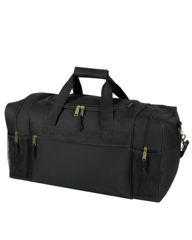 Deluxe Polyester Poly Duffel Bag