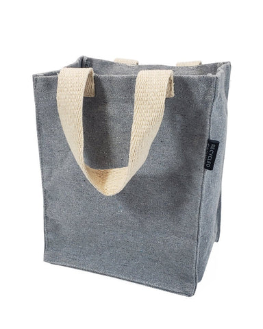 80 ct Recycled Canvas Book Bag with Full Gusset - By Case