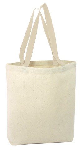 High Quality Promotional Canvas Tote Bags w/Gusset - TG200