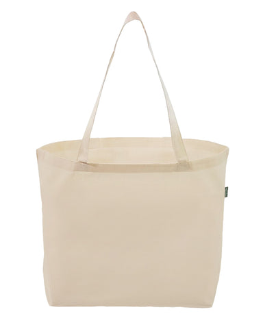 Large Organic Cotton Grocery Tote Bags - OR160